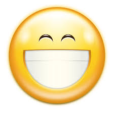 cheeky smile